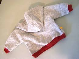 fleece jumper pattern toddler made by me shared with you lapped front infant hoodie tutorial