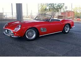 Ferrari California 1970 - 1963 ferrari 250 gte california spyder for sale classiccars com