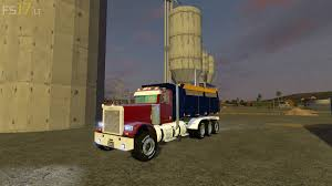 freightliner dump truck freightliner dump truck v 1 0 u2013 fs17 mods
