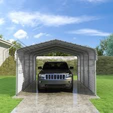 classic carport 2 sided 12 x 20 x 7