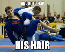 Flips Hair Meme - about to flip his hair ridiculously photogenic jiu jitsu guy