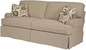 White Sofa Slip Cover by Decor Slipcover For Sofa With Three Cushions T Cushion Sofa