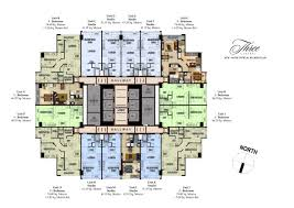 typical floor plan floor plans and unit layouts of three central u2013 makati city elite
