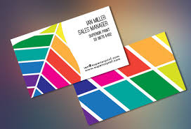 Landscape Business Cards Design Creative Business Cards Design Full Color Business Card Printing