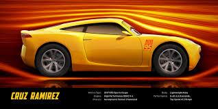 bright orange cars female car trainer cruz ramirez is sunny but fierce in u201ccars 3