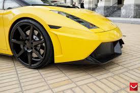Lamborghini Gallardo Custom - vossen wheels lamborghini gallardo vossen cv7