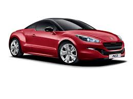 peugeot rcz peugeot rcz u0027red carbon u0027 special edition launched in britain