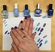 hanukkah nail the beauty of my happy hanukkah nail a blue ombre manicure