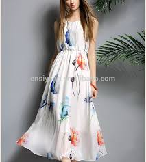 fancy maxi dresses china fancy printed sleeveless chiffon maxi dresses gown