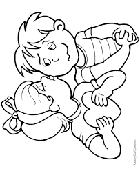 kid valentines coloring pages 020