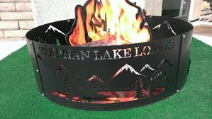 Personalized Fire Pit by Custom Fire Ring