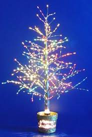 7 ft fiber optic tree it is really pretty get mine