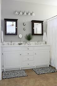 Hydrangea Bathroom Accessories by Builder U0027s Grade Bathroom Makeover On A Budget Honey N Hydrangea