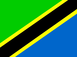 Blue Flag With Yellow Stripe Shabl Is Going To Tanzania Africa Stop Having A Boring Life