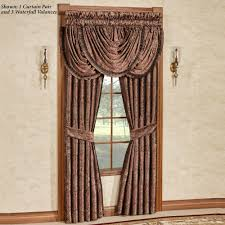Should Curtains Touch The Floor Or Window Sill Curtains And Drapes Touch Of Class