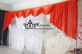 wedding backdrop drapes new style color top swag drape for wedding backdrop curtains