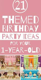 party themes birthday party themes for your one year unforgettable ideas