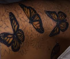 not finished yet but my hip side ribcage and butterfly