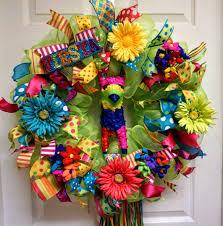 fiesta wreath cinco de mayo wreath birthday deco mesh wreath by