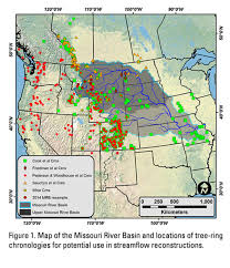 Map Missouri Multi Century Perspectives On Current And Future Streamflow In The