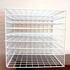 Build Free Standing Storage Shelves by Best 25 Wire Storage Racks Ideas On Pinterest Wire Rack