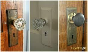 Vintage Glass Door Knobs by Enchanting Vintage Door Knob 104 Old Door Knobs Ebay Interior Door