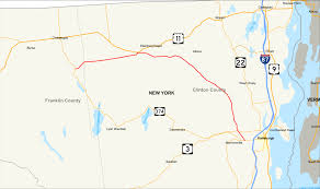 Malone Ny Map New York State Route 190 Wikipedia