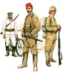 Ottoman Empire World War 1 Ottoman Army In World War One 1914 1918 Uniforms Strength
