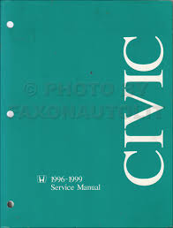1996 2000 honda civic electrical troubleshooting manual original