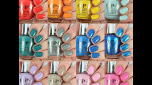 opi spring summer 2017 fiji collection live swatch and review