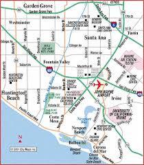 santa california map road map of santa wayne airport santa california
