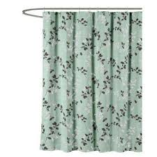 Gray Fabric Shower Curtain Gray Shower Curtains Shower Accessories The Home Depot