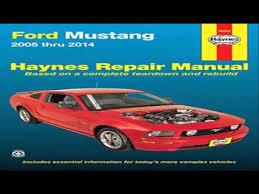 2005 ford mustang repair manual ford mustang 2005 thru 2014 haynes repair manual