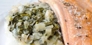 truite cuisine filet de truite à l oseille et au poireau facile et pas cher