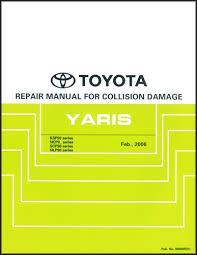 toyota yaris 2009 service repair manual and wiring diagram
