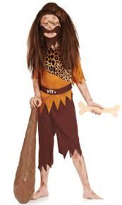 age 8 16 boys krazed jester costume mask halloween fancy dress stone age boys fancy dress caveman pre historical kids childs