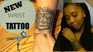 wrist tattoo experience u0026 pain youtube