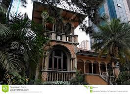 spanish house style spanish style house in sao paulo stock image image 906615
