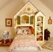 Little Girls Bunk Bed by House
