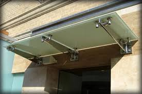 Window Awning Brackets Dac Architectural Glass Canopies U0026 Translucent Awnings