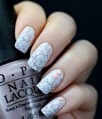 preety nail lace design art nail art pinterest lace art
