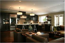 living design kitchens modern living room kitchen combo interior design