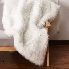 Fur Area Rug Faux Fur Rugs