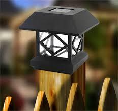 Solar Stake Garden Lights - 2017 solar stakes lights solar lamp headlamp wooden fence column