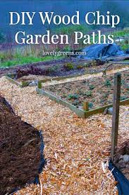 garden paths frugal gardening idea create wood chip garden paths lovely greens