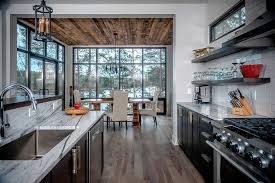 what color wood floors go with espresso cabinets hickory floors design ideas