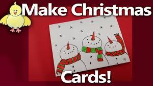 let u0027s make some easy handmade christmas cards from livestream