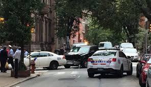 police cars crash in center city u2013 philadelphia magazine
