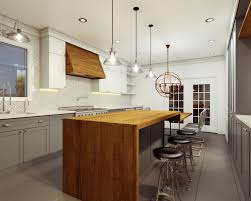 decorating ricks butcher block island for chic kitchen decoration