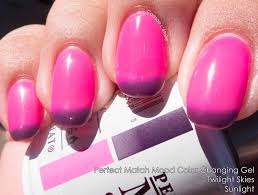 perfect match mood color changing gel carinae letoiles polish